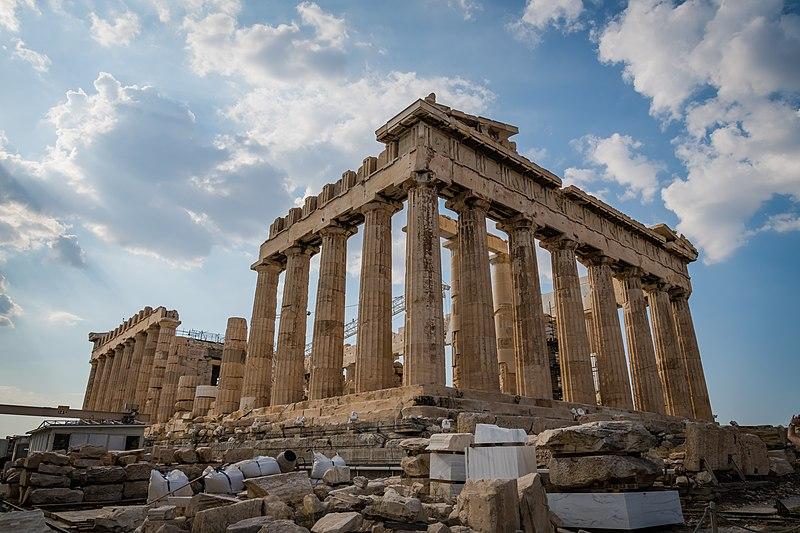 Parthenon-on-Athens-Greece
